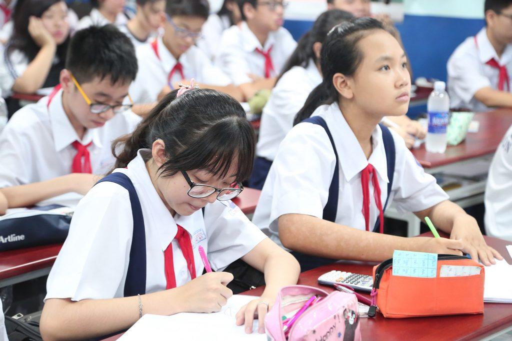 Hoàng sa tuyển sinh Trung học cơ sở 2021-2020