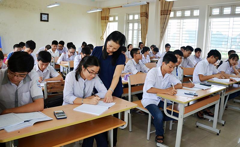 Hoàng Sa tuyển sinh Trung học phổ thông 2021-2022